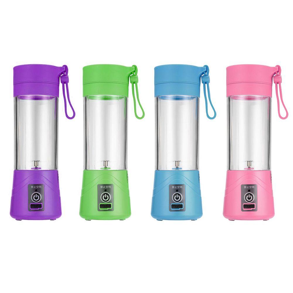 400ml USB Rechargeable Juicer Bottle Cup Juice Citrus Blender Lemon Vegetables Fruit Milkshake Smoothie Squeezers Reamers Bottle
