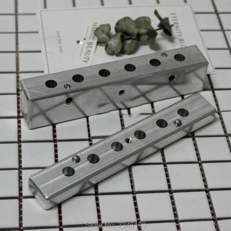 1Set 9mm Inner Cup Stick Rouge Mold, DIY Aluminum Lipstick Filling Mold, High Grade Aluminum Lip Balm Mold