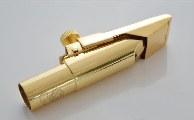 French Upgraded Version The S90 Selmer Sax Metal Mouthpiece Alto Tenor Soprano Professional Saxophone Mouthpiece Gold Silver