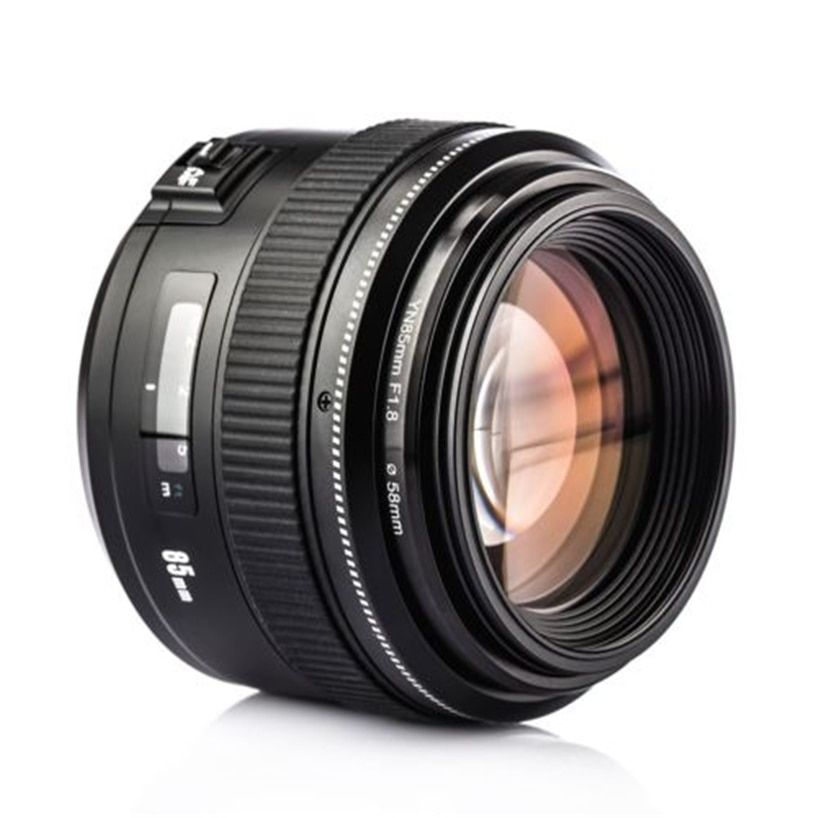 YONGNUO Lens YN85mm f1.8 AF/MF Standard Medium Telephoto Prime Lens Fixed Focal Camera Lens for Canon EF Mount EOS