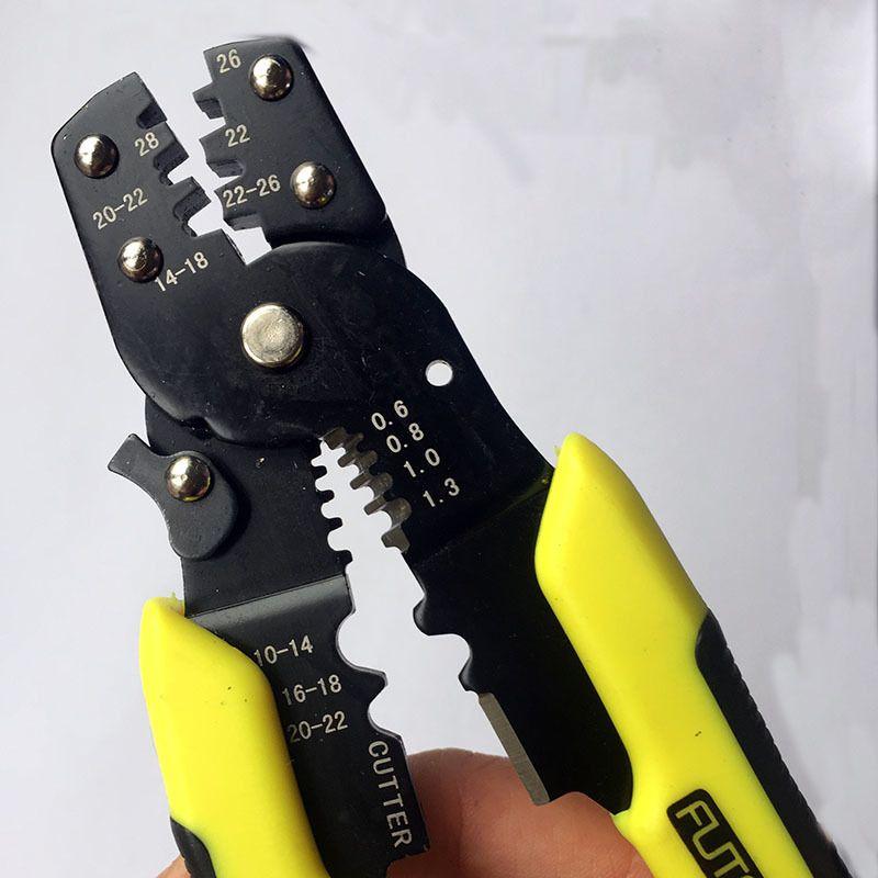 Multi-fonctionnel Pinces À Circlips Portable Outil De Sertissage À la Main Pince Bornes Crimpper
