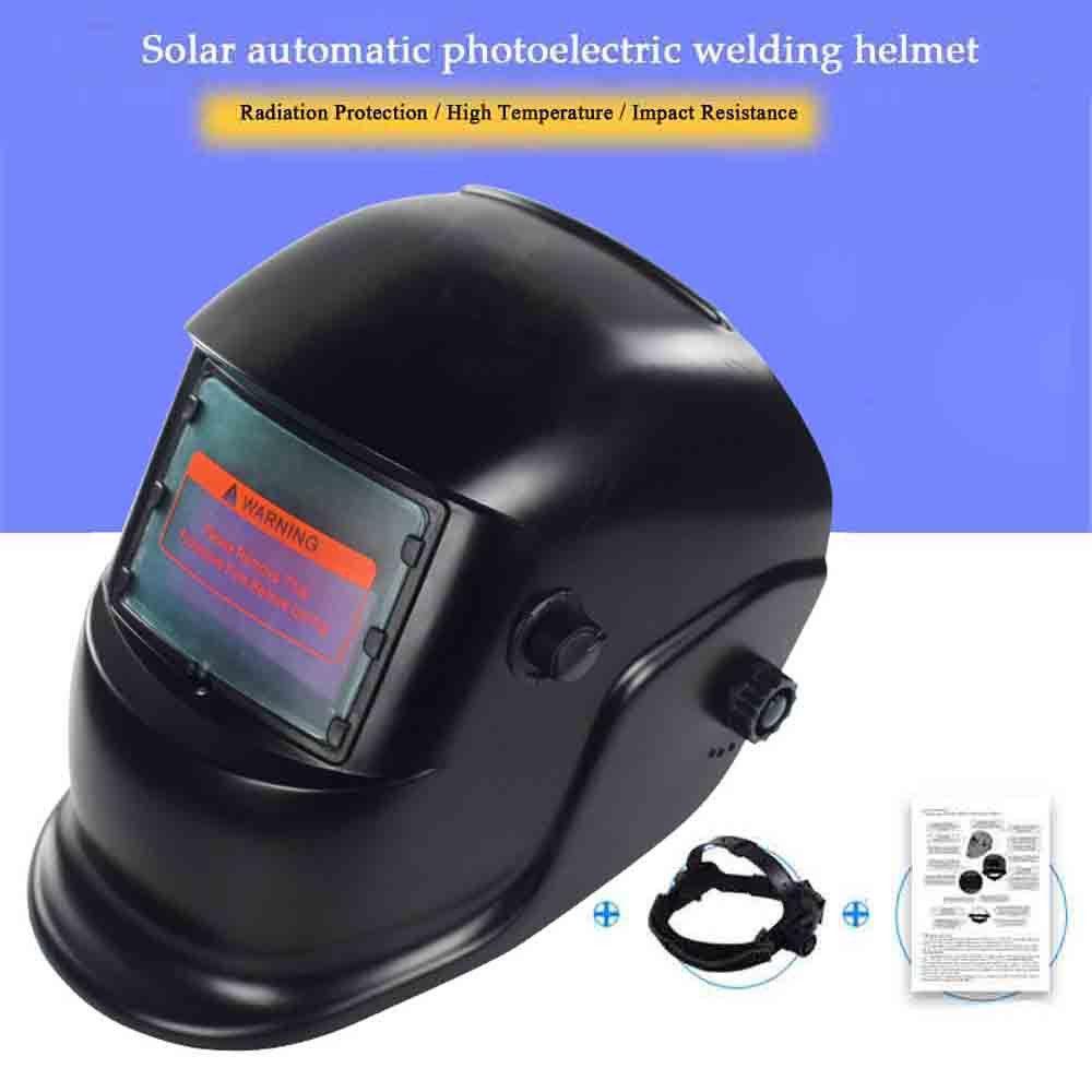 Welding Helmet Automatic Replacement Welding Mask Head Band Welder Welding Mask TIG Mask WN-107 BLACK