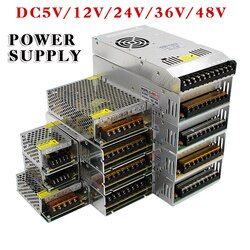 Hot Sale AC85-265V 110V 220V to DC5V 12V 24V 36V 48V 1A 2A 3A 5A 10A 15A 20A 30A 40A 80A CCTV / LED Strip Power Supply Adapter