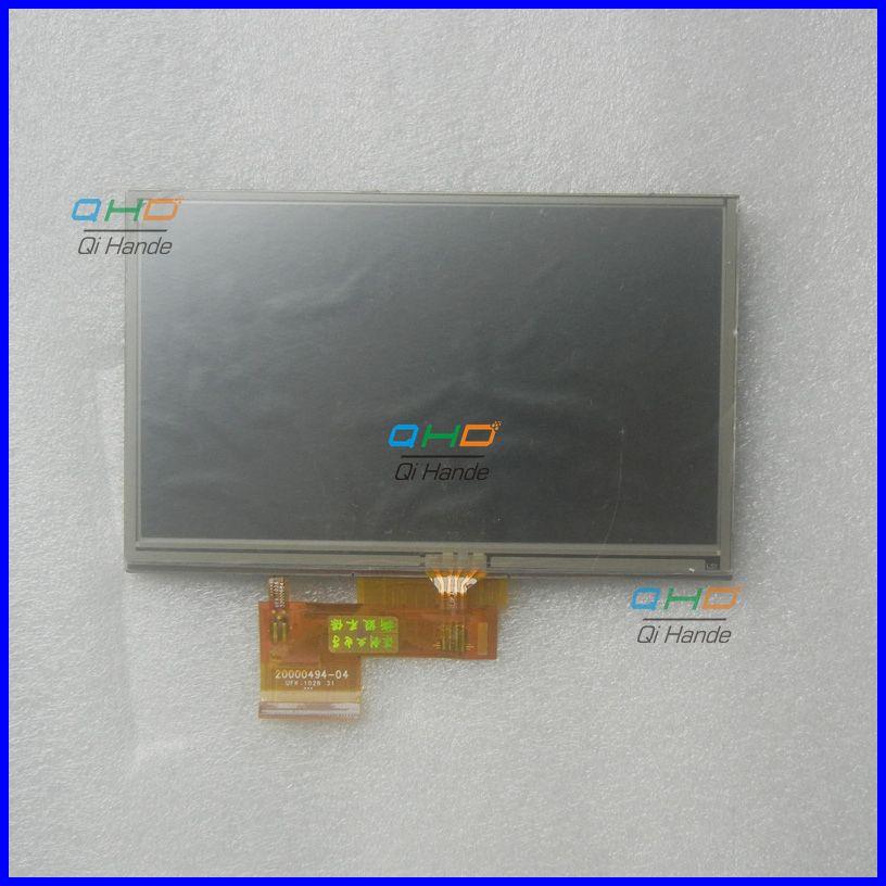 Original and New 5inch 20000494-04 AT050TN34 V.1 LCD Screen For Garmin Nuvi 1410 1440 1460 GPS PSP MP5 LCD Display