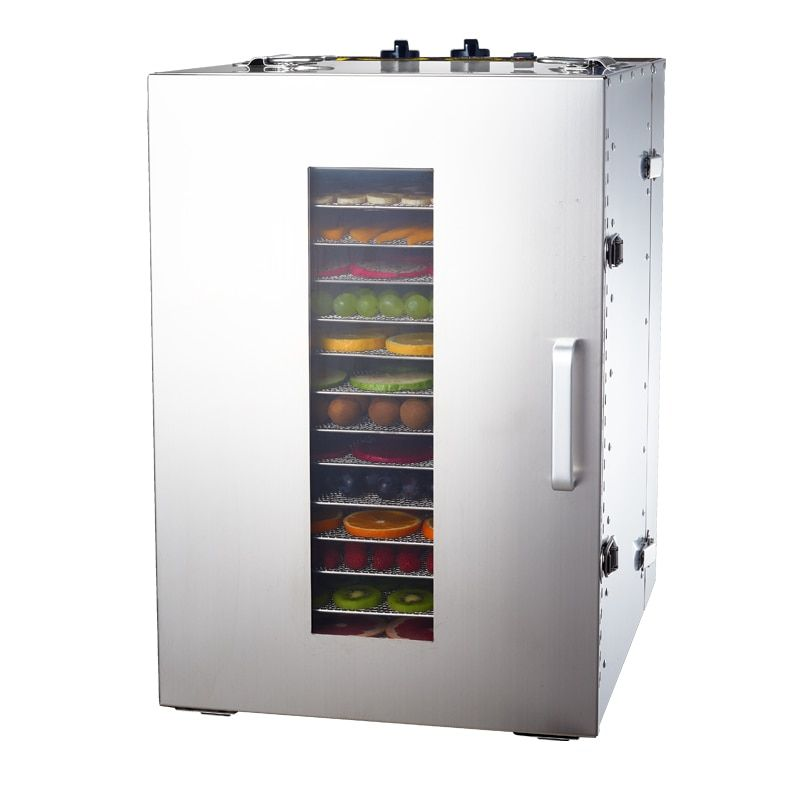 Commercial Dried fruit machine fruit vegetable food Air dryer Dehydration pet Dryer Home fast Strong health Efficient dehydrator
