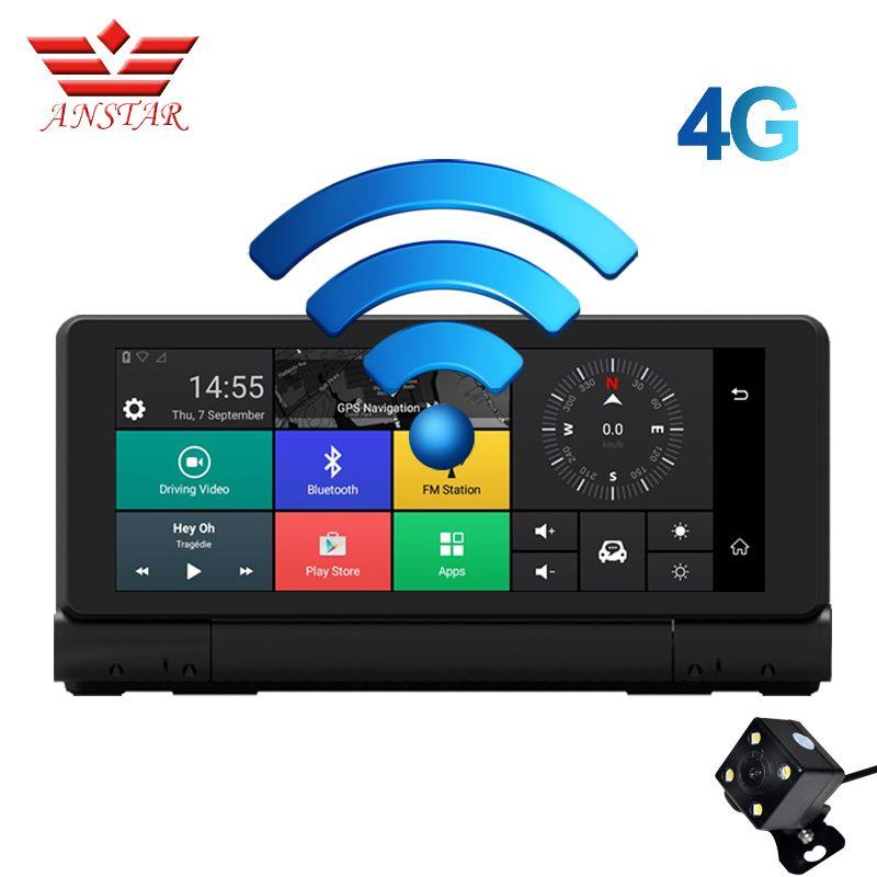ANSTAR 4G Car DVR GPS Navigator Camera 6.84
