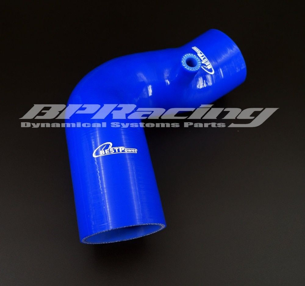 SILICONE INDUCTION HOSE TUBE BLUE  FOR BMW MINI COOPER S
