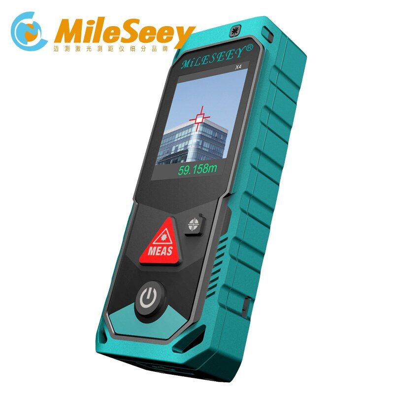 Mileseey P7 80M 100M 150M 200M Bluetooth Laser Rangefinder with Rotary Touch Screen Rechargerable Laser Meter