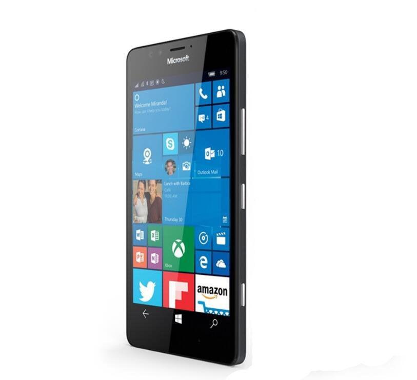 Nokia Microsoft Lumia 950 XL Original Unlocked Windows 10 Mobile Phone 4G LTE GSM 5.7'' 20MP Octa Core 3GB RAM 32GB ROM