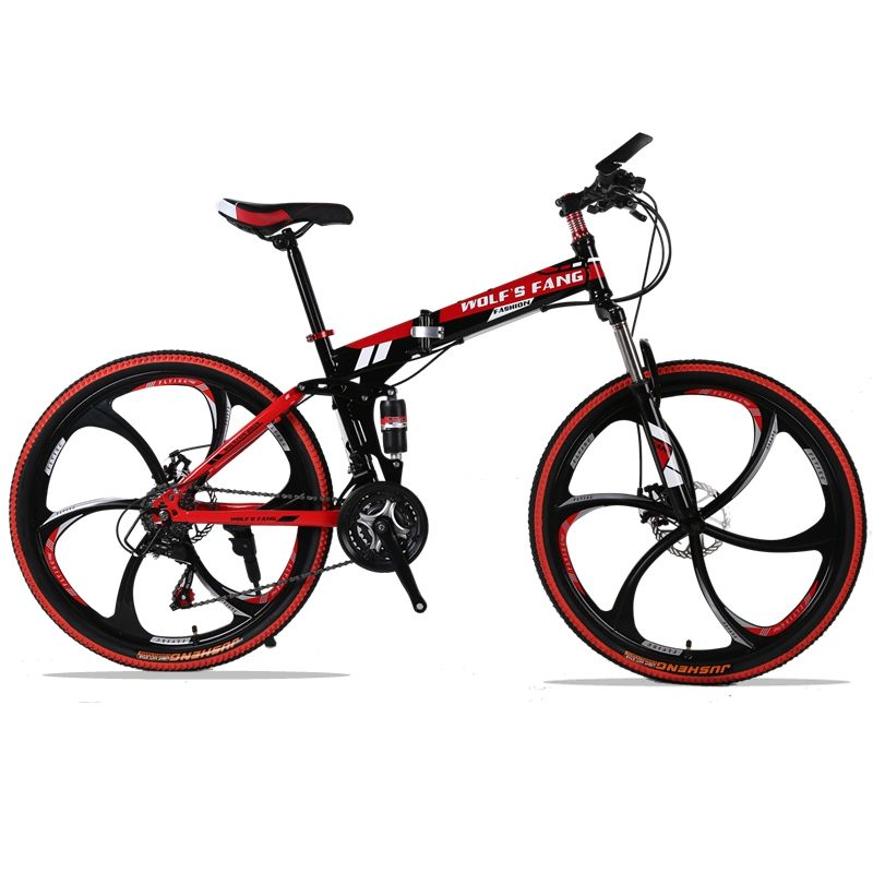 folding Road Bike 24 speed 2629 inch mountain bike brand bicycle Front and Rear Mechanical Disc Brake Full shockingproof Frame