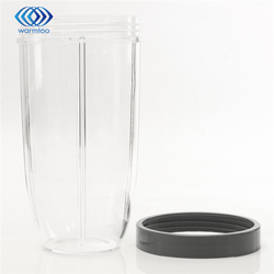 32Oz Plastic Grey Transparent Replacement Cup With Lid For Nutribullet For Nutri For Bullet Blender Juicer Parts