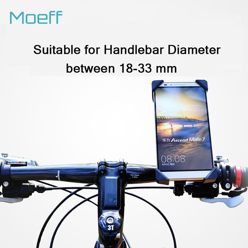 Universal Bicyclette Téléphone Titulaire Mont Support Guidon Clip Stand 360 Degrés Rotatif Pour Smart Mobile Téléphone Portable en toute sécurité