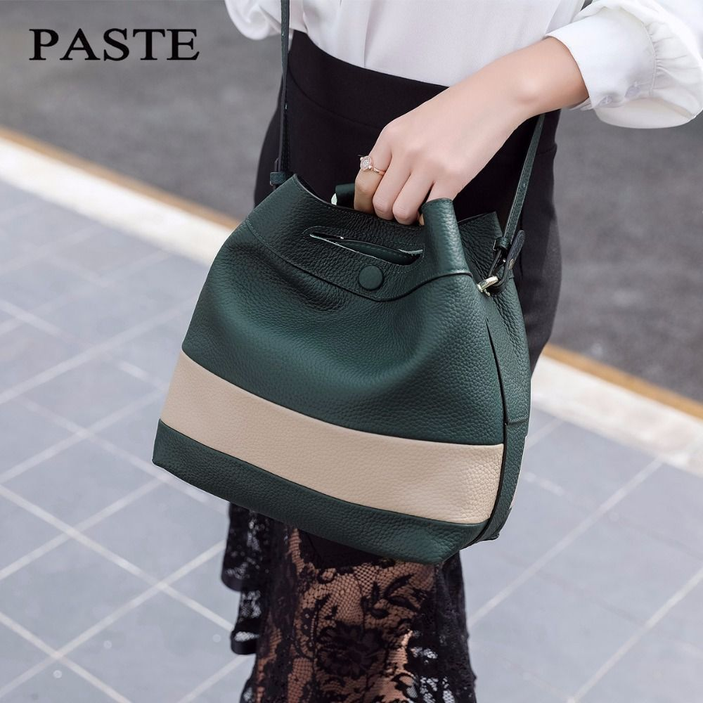 TOP quality Brand Designer 2017 Women's Genuine Leather Vintage Single Shoulder Bag Women Crossbody Bags Handbags For Ladies