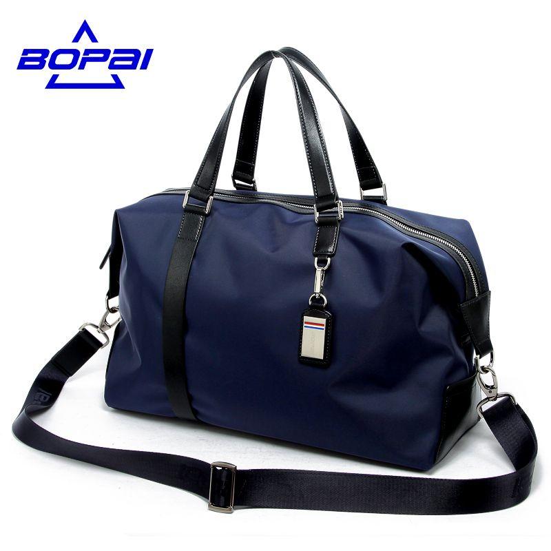 BOPAI 2017 Waterproof Luggage Bag Large Capacity Men Travel Bags Women Weekend Travel Duffle Tote Bags Crossbody Travel Bags