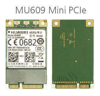 Offres spéciales HUAWEI MU609 WCDMA Mini PCIe HSPA +/UMTS quadri-bande 850/900/1900/2100 MHz M2 sans fil carte wifi 3G Module livraison gratuite