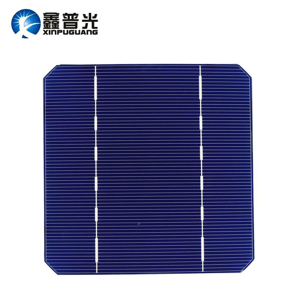 20 pcs 2.8w Solar Cell Monocrystalline Silicon PV Photovoltaic Solar Panel 125*125mm Mono for DIY Kit 19% Efficient Enough-Power