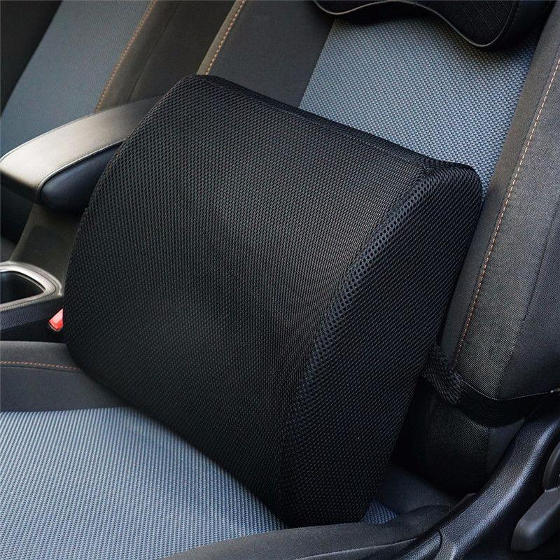 MALUOKASA Lumbar Cushion Lower Back Support Pillow for Car Seat Office Chair Soft Memory Foam Massager Waist Cushion Pillow