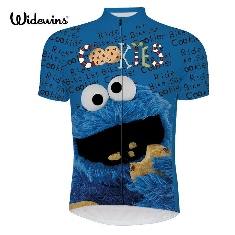 Hommes cyclisme maillot pro équipe bleu maillot ciclismo ropa bici de la vtt vélo maillot cyclisme vêtements dessin animé drôle maillot 6516