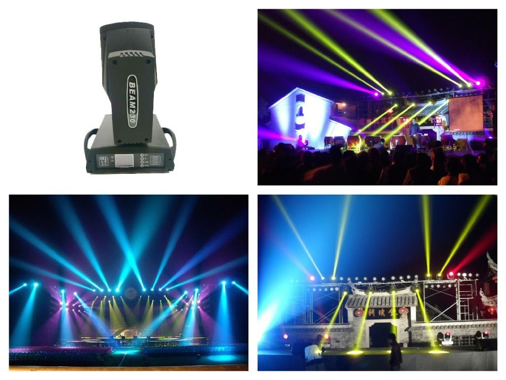 2pcs/lot, Osram 230W Beam 7R Moving Head Light Sharpy LED With big Touch screen for nightclub parties show Stage Disco DJ Club