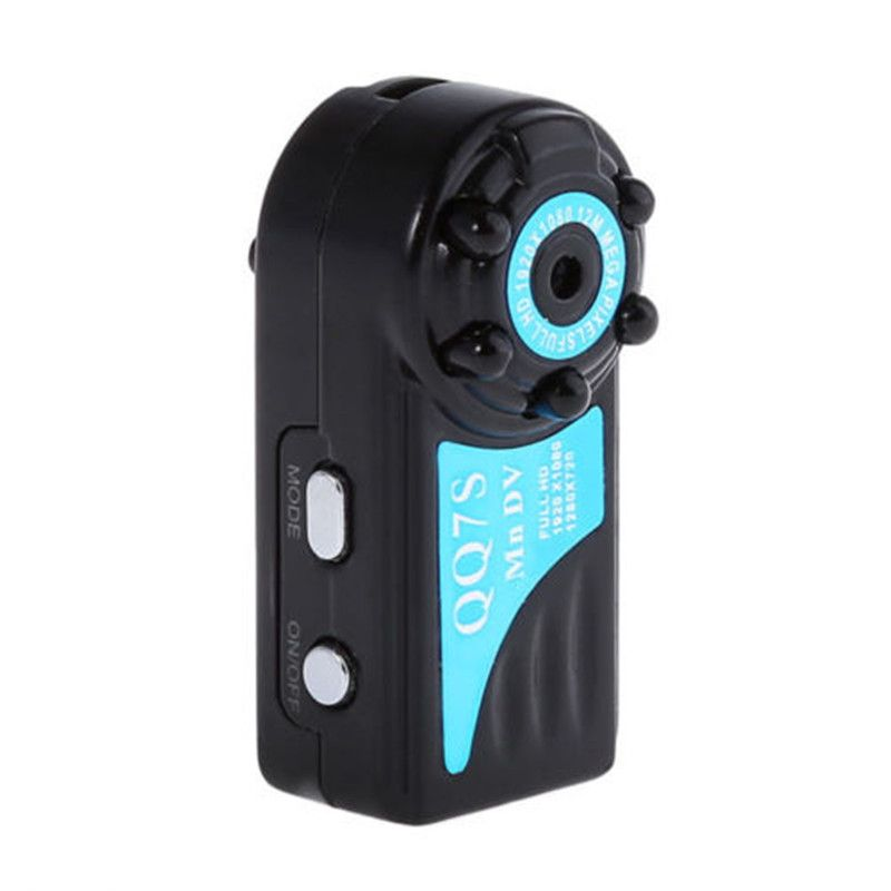 New QQ7S Mini Camera HD 1080P Mini DVR Camera Voice Video Recorder IR Night Vision Motion Detection Camcorders for Car Recorder