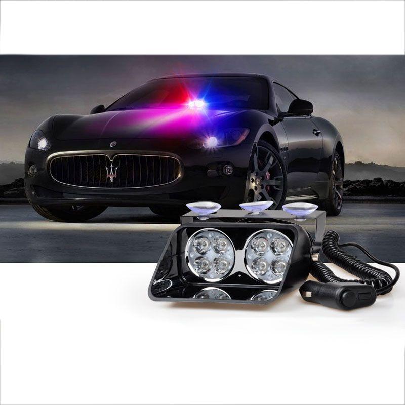 Sanftheit Strobe Licht CE ROHS 24 Watt Auto-Signal Notfall feuerwehrmann Polizei Leuchtfeuer Warnleuchte Rot Blau Gelb Led-Blitz lampe