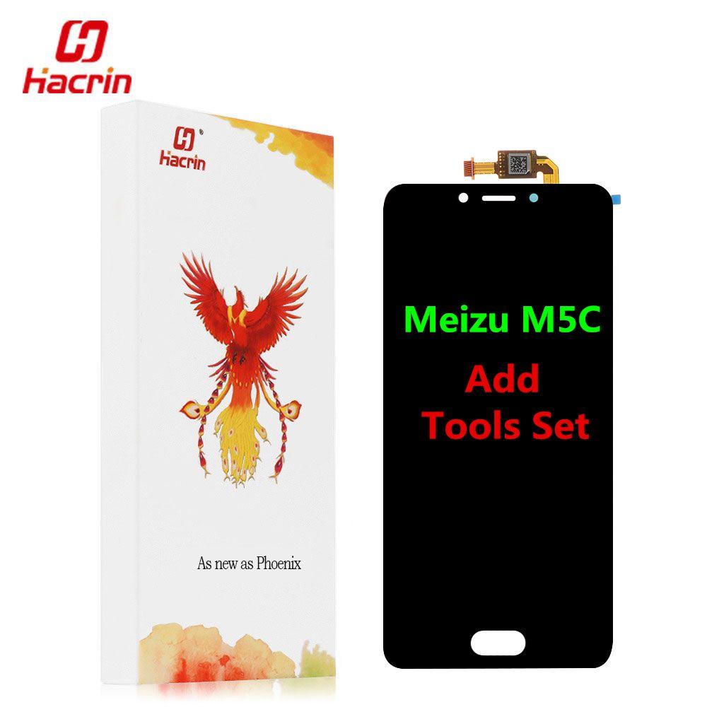 Meizu M5C LCD Affichage Écran Tactile 5.0 HD Digitizer Assemblée Remplacement Pour Meizu M5 C 5C Mondial Version/Meizu A5 m710h