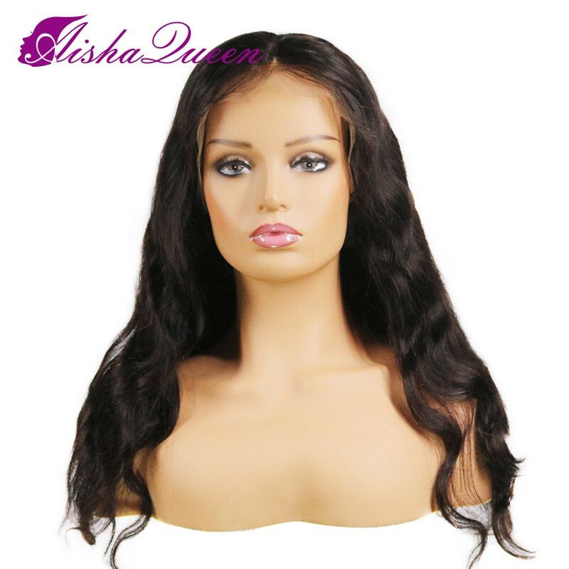 8A Grade Unprocessed Brazilian Front Lace Human Hair Wig Body Wave Virgin Hair Lace Front Wig With Baby Hair For Black Women