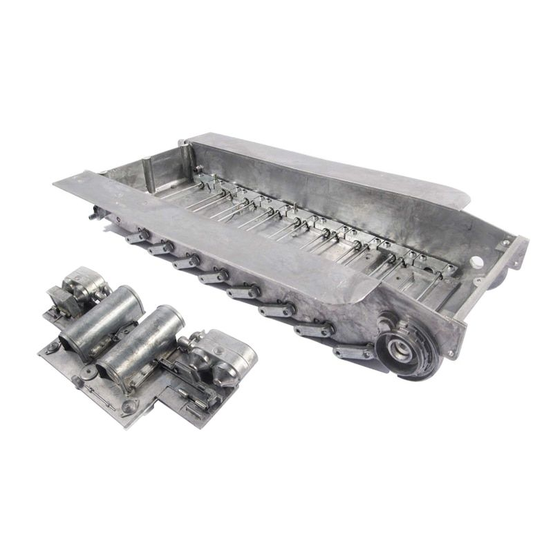 Mato 1/16 Tiger I RC Tank Metal Chassis With Torsion Bar Suspensions Track Tensioner Back Panel MT041