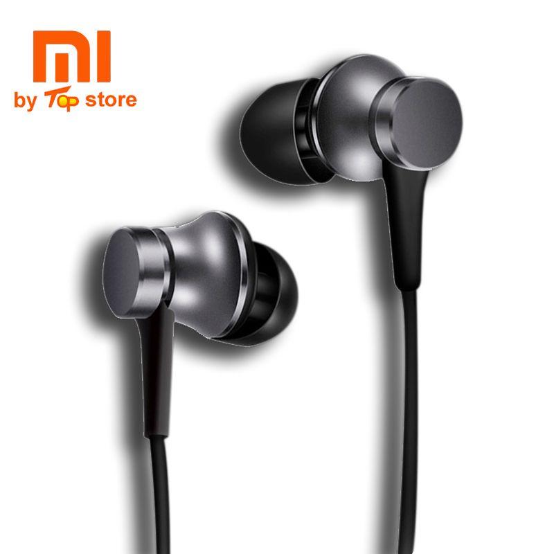 Écouteurs intra-auriculaires d'origine Xiao mi Xio mi Version jeunesse 3 avec casque de contrôle de fil mi c pour mi iphone fone de ouvido