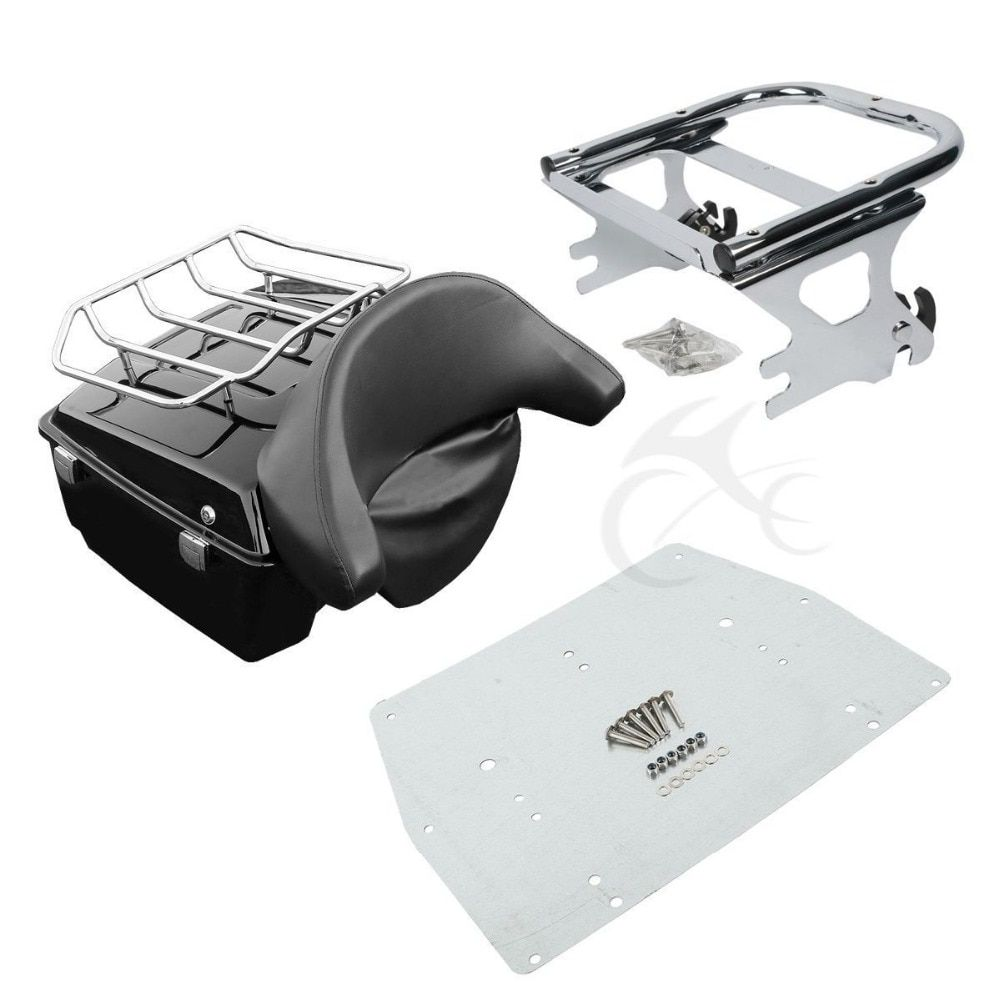 King Tour Pak Pack Trunk For Harley Road King Electra Glide 1997-2008 Motorcycle