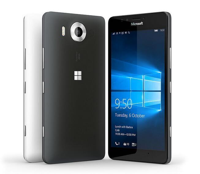 Lumia 950 Nokia Microsoft Original Unlocked Windows 10 Mobile Phone 4G LTE GSM 5.2'' 20MP WIFI GPS Hexa Core 3GB RAM 32GB ROM
