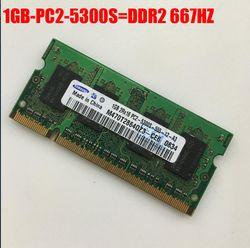 Samsung 1GB 2GB 4GB 1G 2G 4G PC2 PC3  DDR2 DDR3  667 1066 1333 1600 HZ 5300S 6400S 8500S Laptop memory  RAM Variety of options