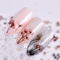 1 лист тисненые 3D наклейки для ногтей цветущие цветы Стикеры 3D на ногти Nail Art наклейки клей маникюр Дизайн ногтей Советы украшения SAF199