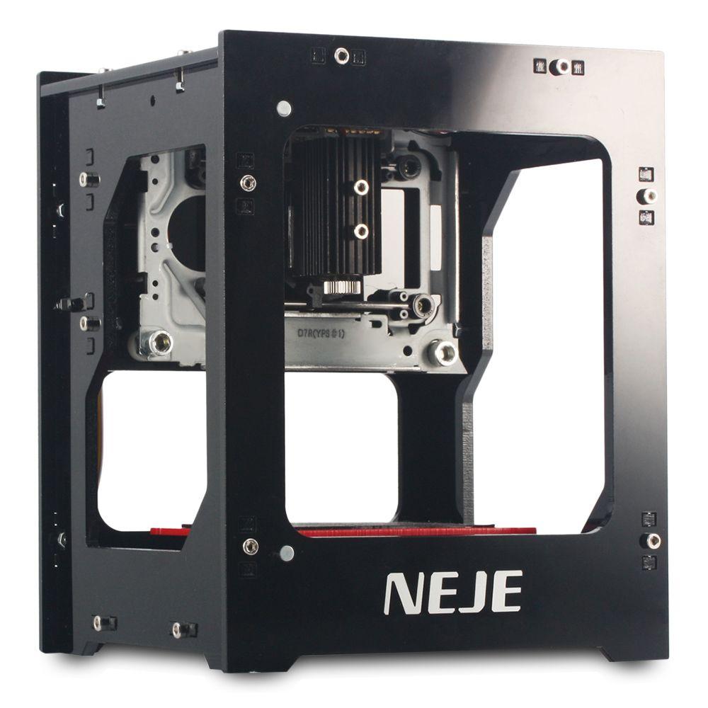 NEJE DK-8-KZ Haute Puissance 3D Laser Graveur Imprimante 1000 MW Cutter Machine USB DIY Graveur D'impression Pour Téléphone Portable Cas 3D imprimante