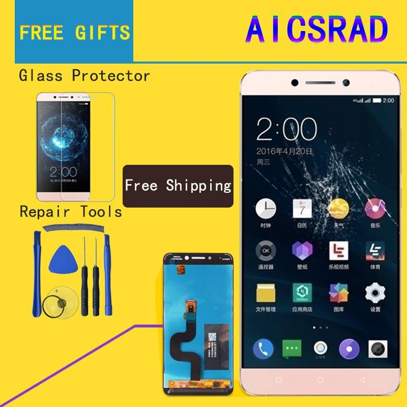 AICSRAD 5.5 For Le2 X527 X520 X522 For <font><b>LeTV</b></font> LeEco Le 2 Display LCD Touch Screen for LeEco X626 LCD Display Le 2 Pro X620 X526