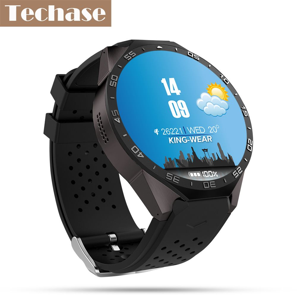 Techase Smartwatch Android OS Relogio GPS Tracker Heart Rate Monitor 3G SIM Smart Watch WiFi Clock Camera Reloj Inteligente