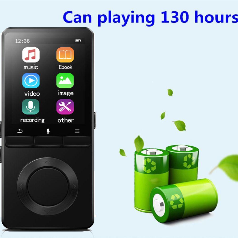 MP4 Player 8 gb Lautsprecher MP4 Musik Player Sport VIDEO HIFI musik mit Voice Recorder Radio Erweiterbar Mic SD/ SDHC Slot Sound C2