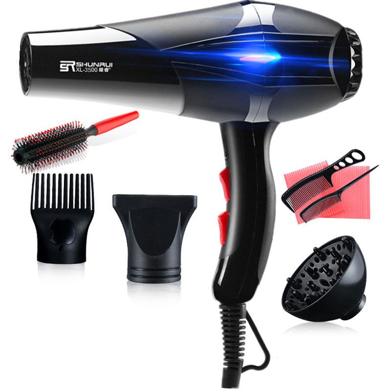 Travel Household Fan Hair Dryer Professional 3200W Hairstyling Tools 220-240V Hairdryer Blow Dryer Hot and Cold Hair Care