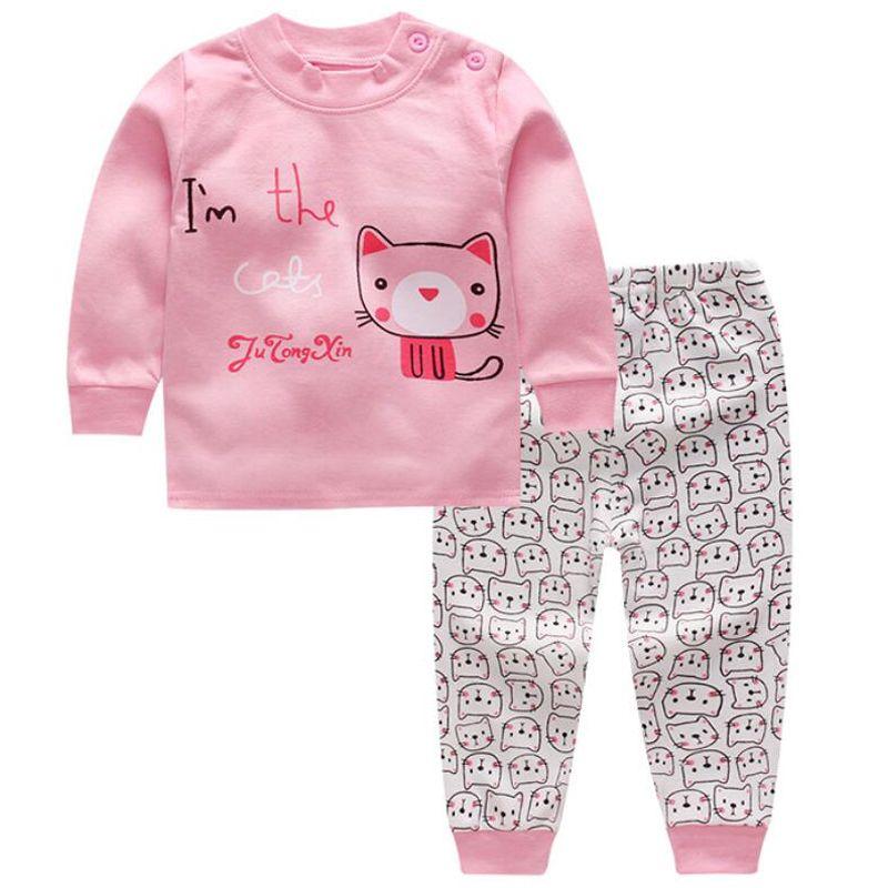 Pullover Babykleidung sätze von kleidung für mädchen und jungen T-shirts jacke kinder Pyjamas für baby mädchen boutique kleidung 1 T