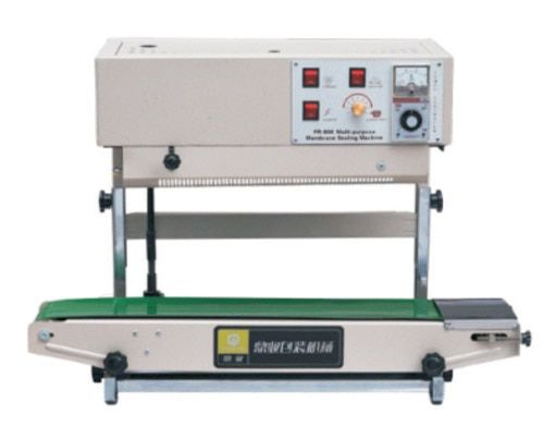 Vertical Continuous Heat Band Sealer For Liquid Packaging