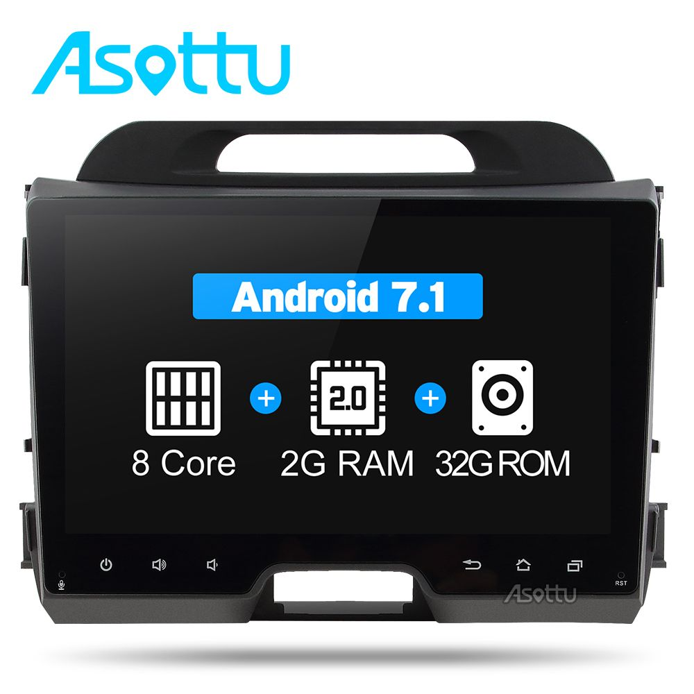 Asottu CZP9060 Octa 8 core car dvd for KIA sportage 2011 2012 2013 2014 2015 car pc head unit gps navigation 2 din car stereo