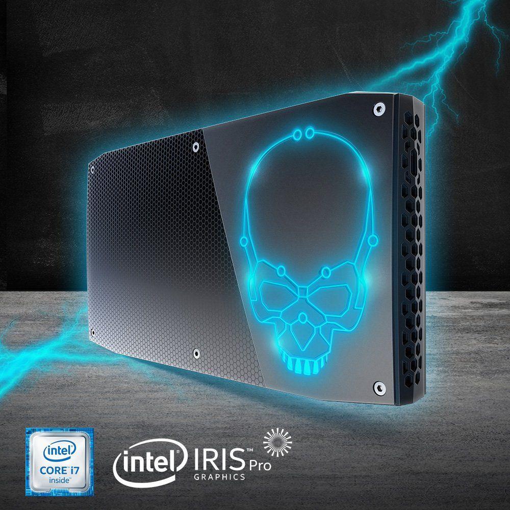 Original Intel Core NUC CPU i7-6770HQ Mini PC Windows 10 4K USB 3.0 HDMI WIFI BL Gigabit Ethernet Büro Gaming Desktop computer