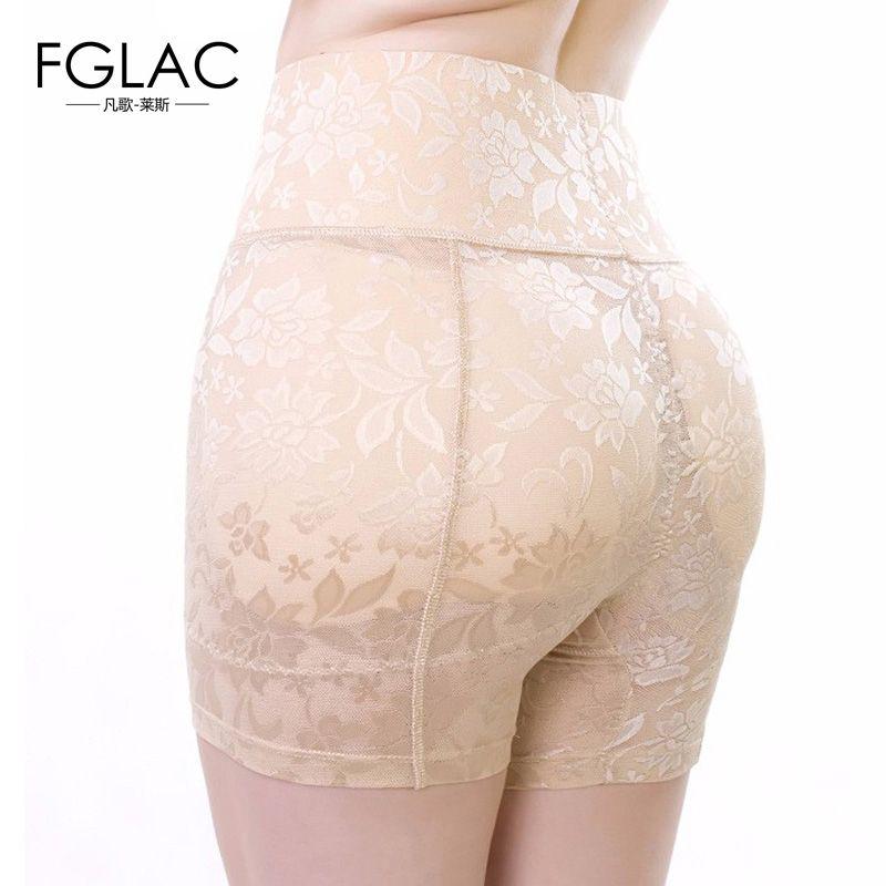 Nouveau Contrôle culottes Mode sexy Dentelle Respirant Fesse Sous-Vêtements Dentelle Anti Vidé taille Haute Abondante faux butt pad hanche pantalon