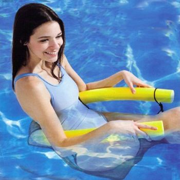 2018 New Novelty Bright Color Pool Floating Chair Swimming Pool Seats Amazing Floating Bed Chair Pool Noodle Chair Wholesale