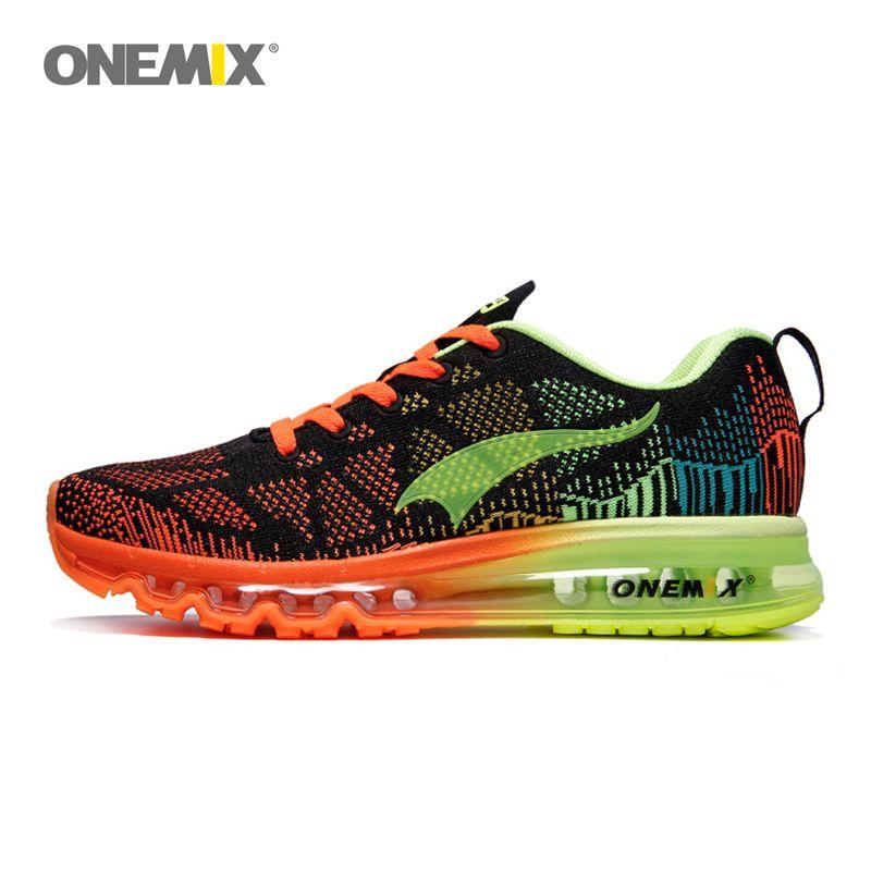 ONEMIX Air 270 Hommes Respirant chaussures de course de Sport baskets d'extérieur Max 95 chaussures de jogging Formation
