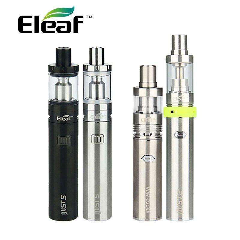 Original Eleaf iJust S Vaping Kit 3000 mah iJusts Batterie e elektronische zigarette Vs Nur iJust 2 Kit Vs Nur iJust2 mini Kit