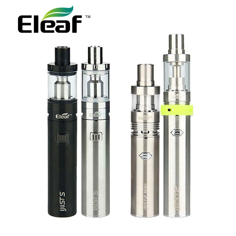 Original Eleaf iJust S Vaping Kit <font><b>3000mah</b></font> iJusts Battery e electronic cigarette Vs Only iJust 2 Kit Vs Only iJust2 mini Kit
