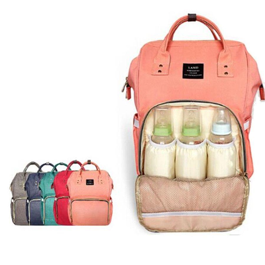 LAND Update Mummy Maternity Nappy Bag Brand Large Capacity Baby Bag Travel Backpack Desiger Nursing Bag for Baby Care