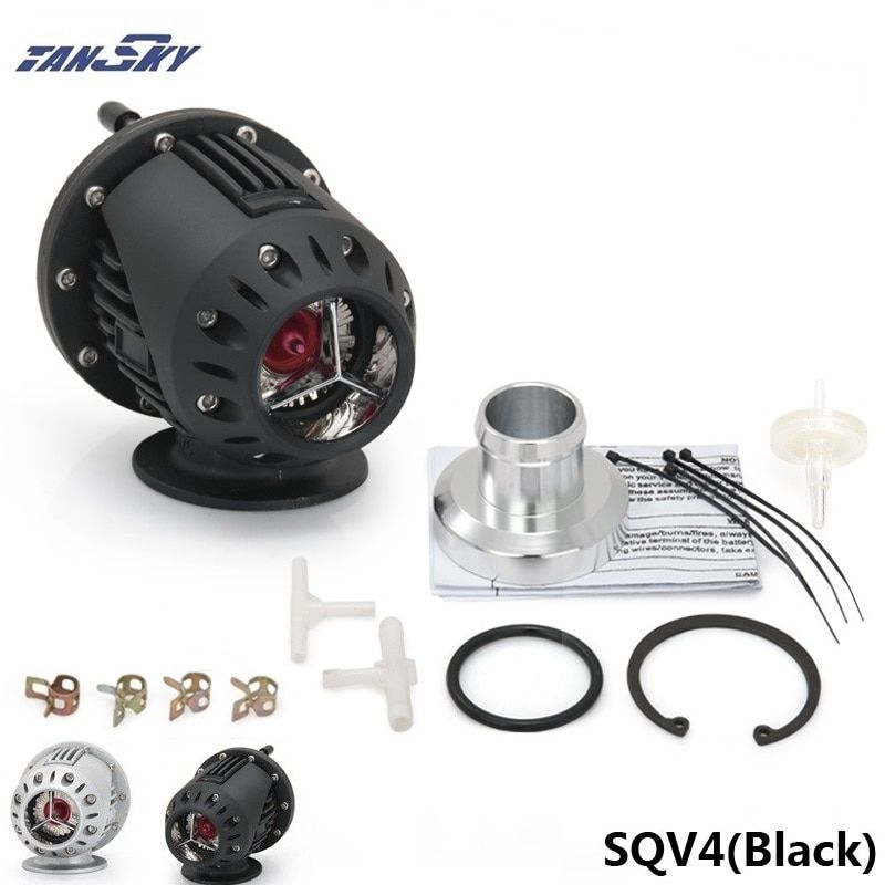 UNIVERSAL BLOW OFF VALVE BOV SQV 4 IV SSQV 4 IV Latest MODEL SILVER/BLACK TK-SQV4