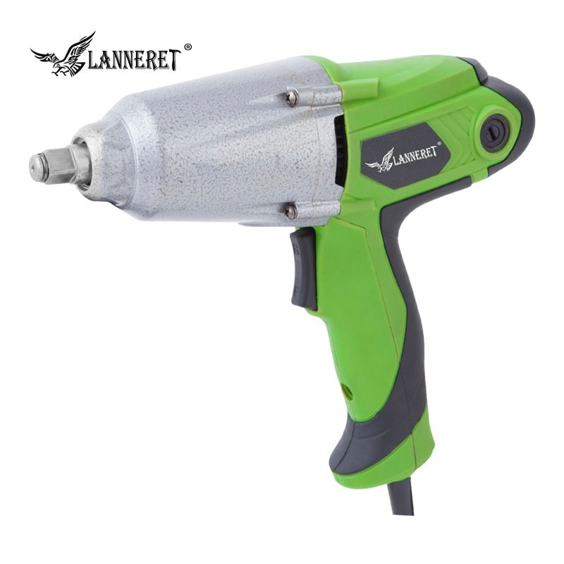 LANNERET RS450DD01 450W 300Nm 1/2 inch Socket Electric Impact Wrench DIY Household Electric Wrench